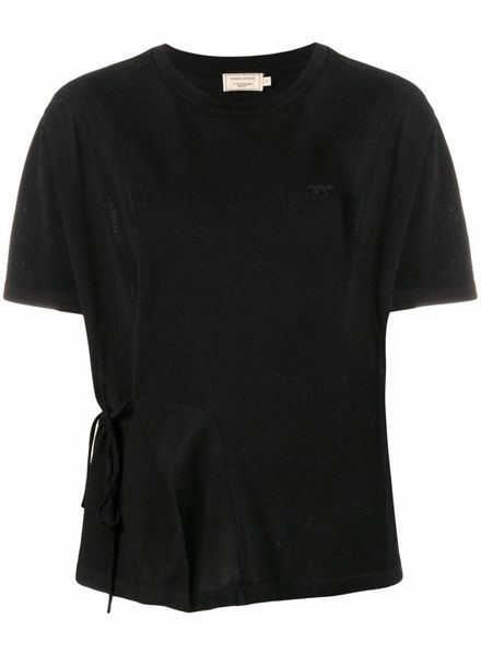 Maison Kitsuné Draped Tee-shirt - Black