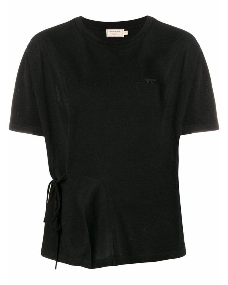 Maison Kitsuné Draped Tee-shirt - Black