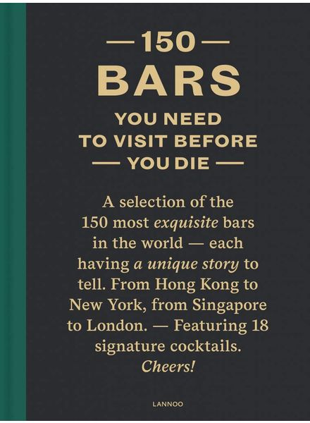 Lannoo 50 bars you need to visit before you die