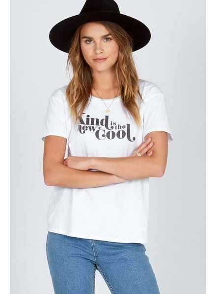 Amuse Society Kind is the new cool Tee - White