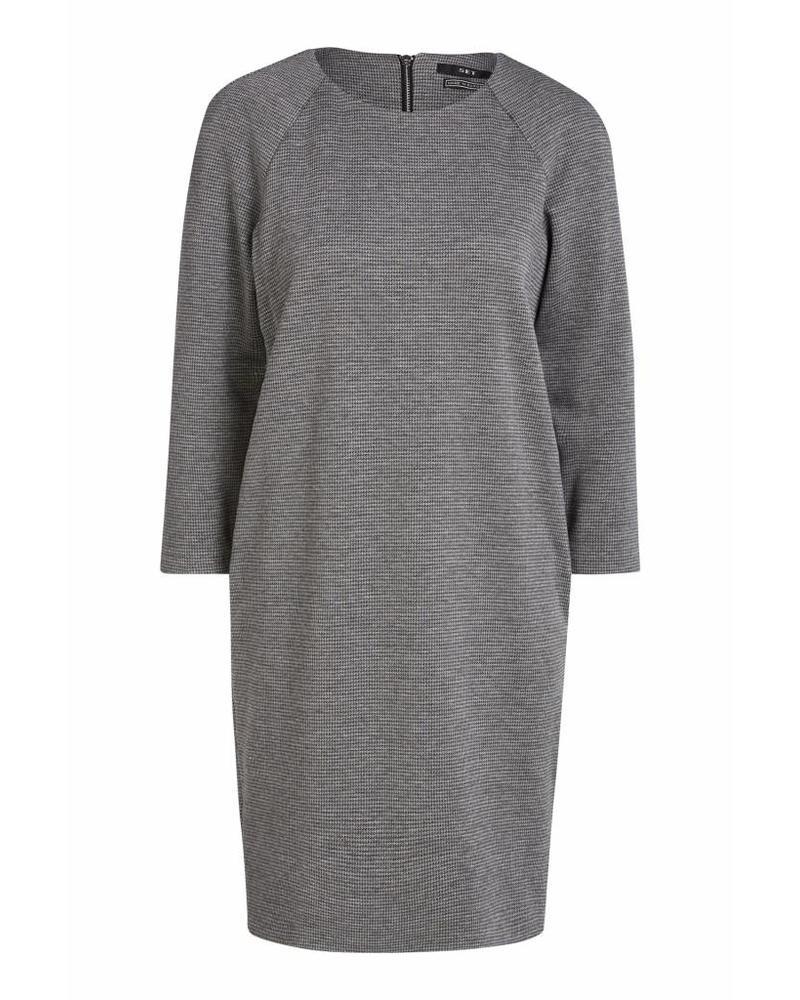 SET Dress - Grey/Black