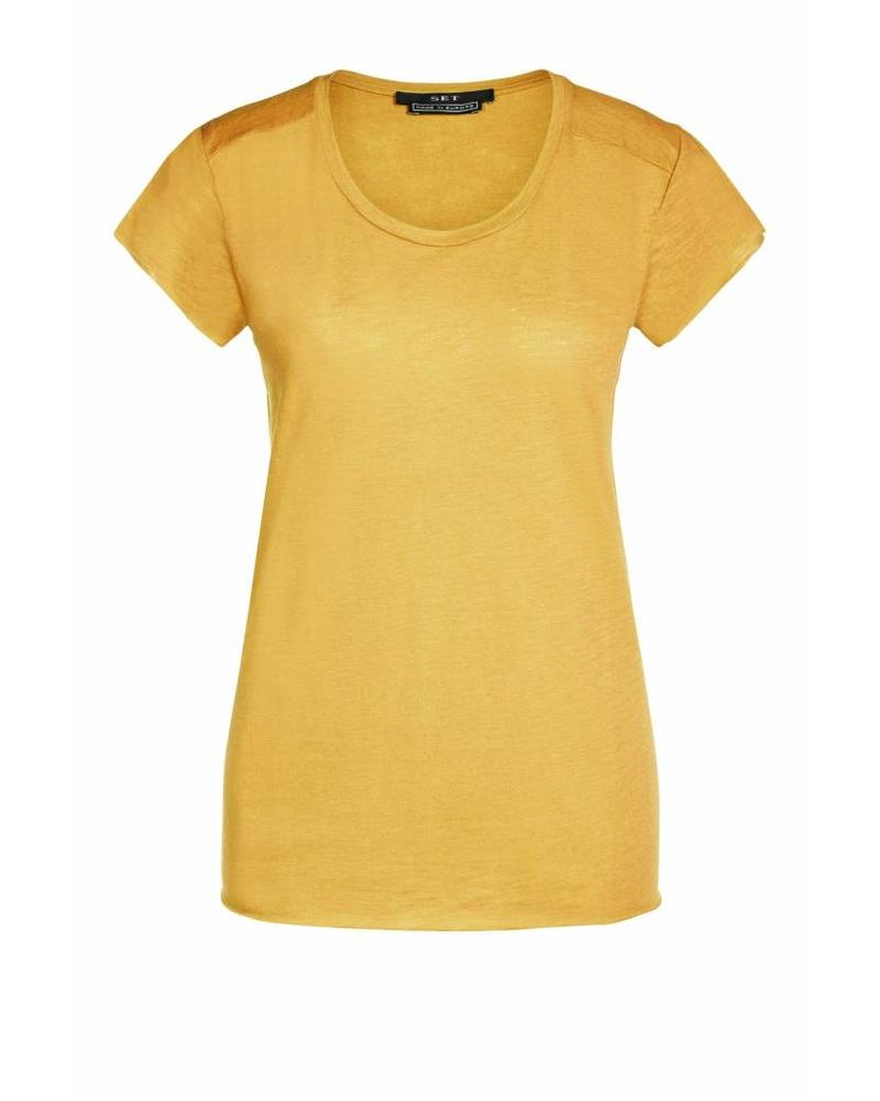 SET Basic T-shirt - Yellow