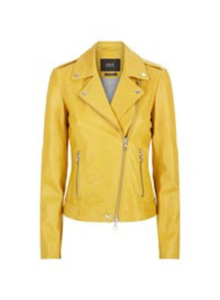 SET Leather jacket - Yellow