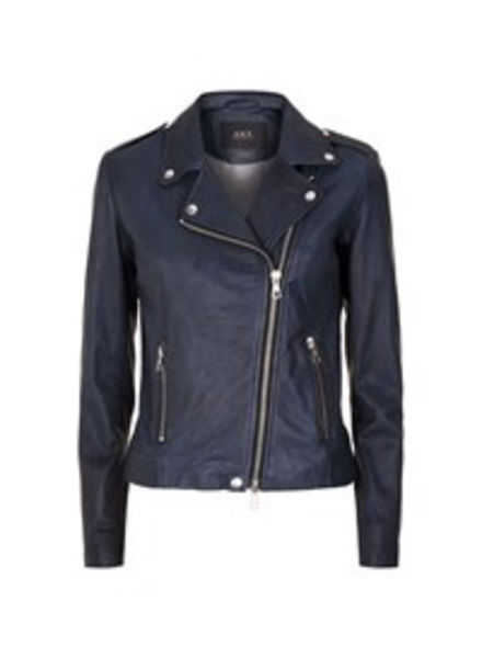 SET Leather jacket - Dark Blue