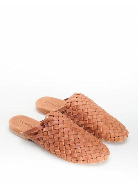 St. Agni Bunto Woven Loafers - Almond