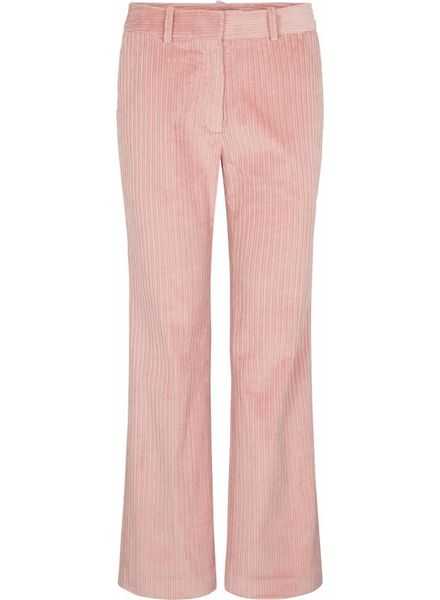 Just Female Corduroy trousers - Bridal rose