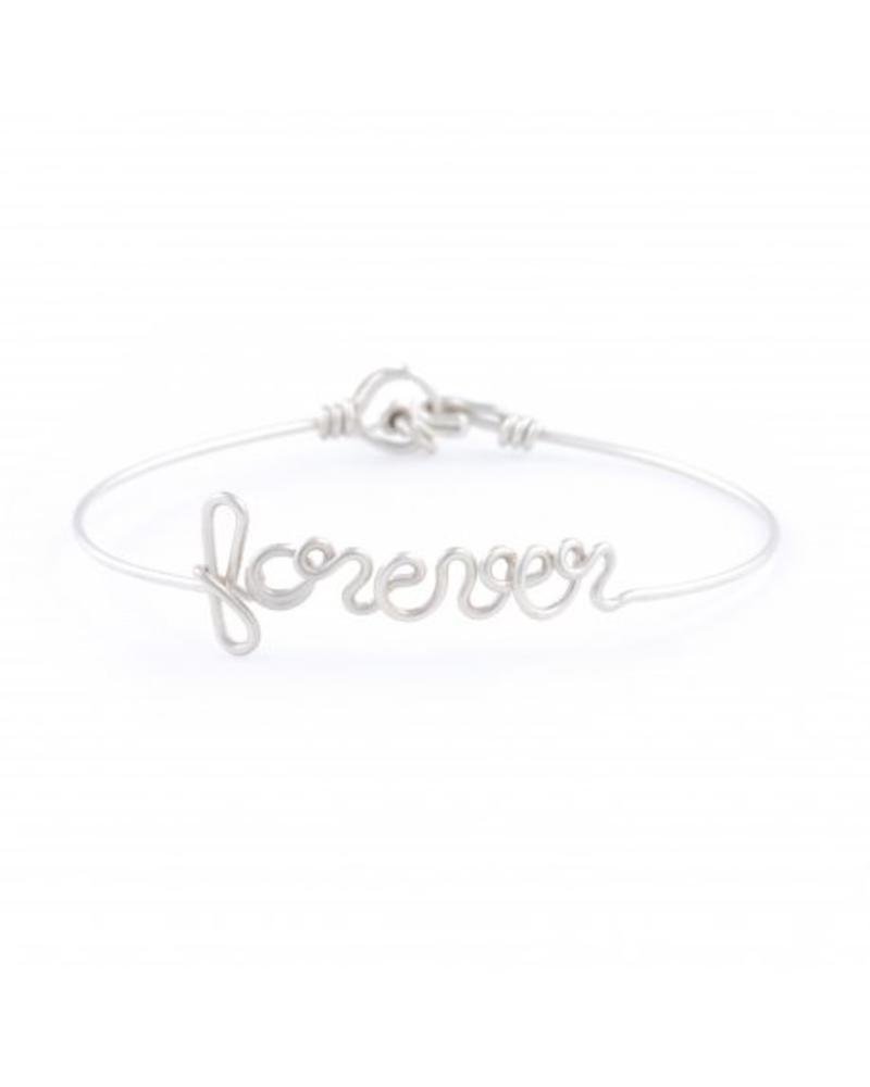 """Atelier Paulin Bracelet """"forever"""" - Argentinum 935"""
