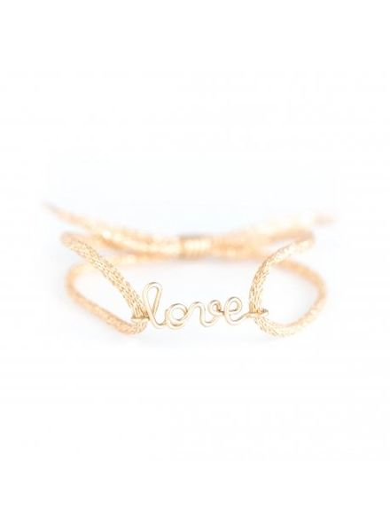 "Atelier Paulin Cordon women ""Love"" - 14 k yellow"