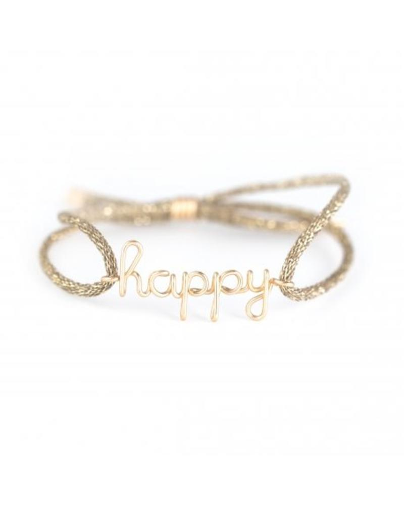"Atelier Paulin Cordon women ""Happy"" - 14k Yellow"