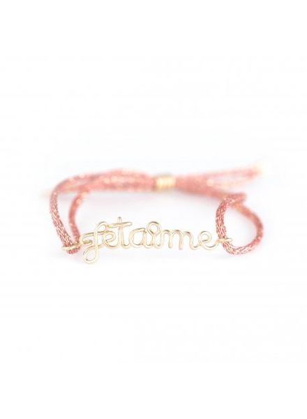 "Atelier Paulin Cordon Women ""Je t'aime"" - 14k yellow"