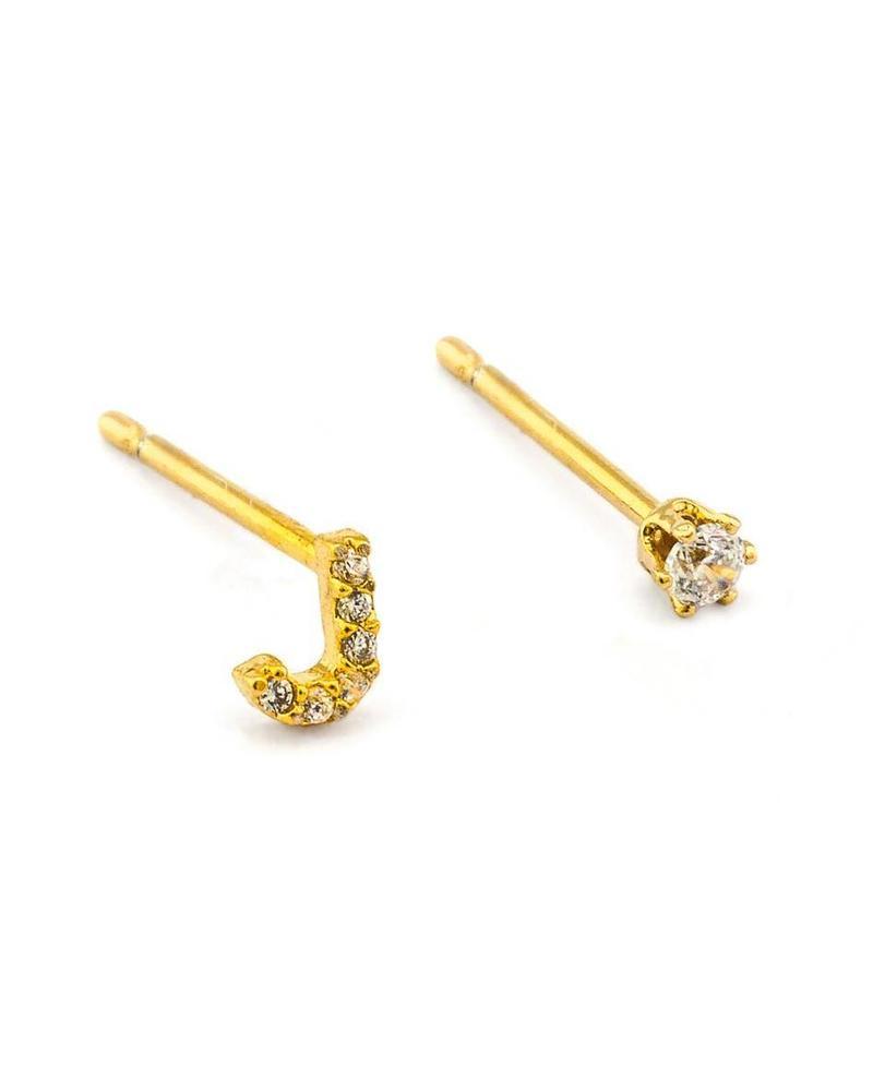Alfabet earring