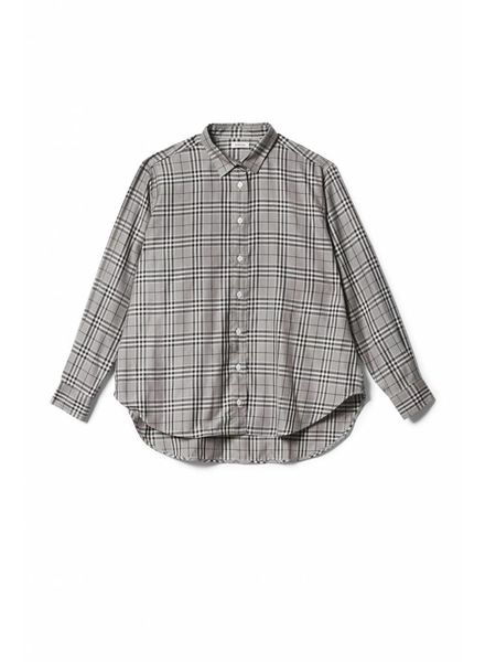 Totême Capri shirt - Grey check