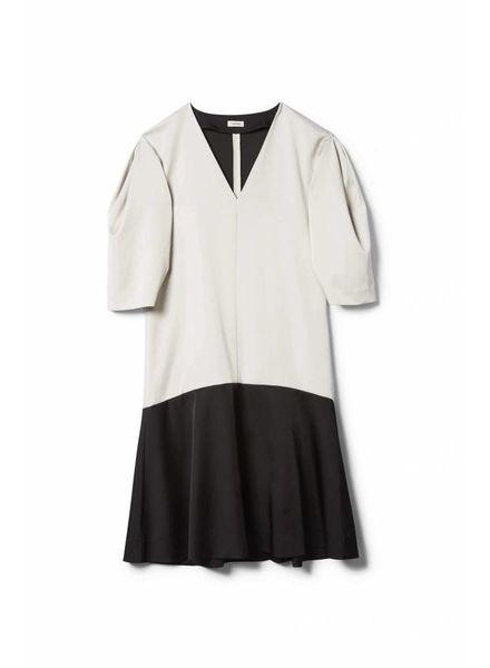 Totême Marial dress - Creme&Black