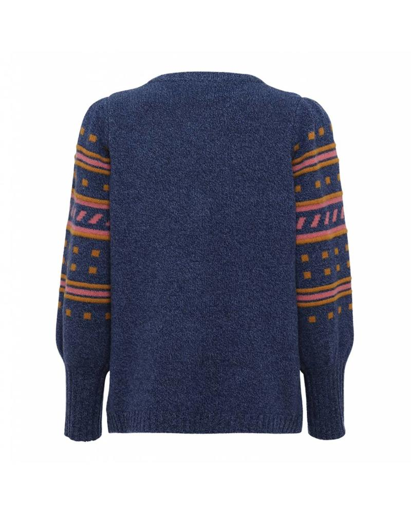 Julie Fagerholt Keen Sweater - Navy