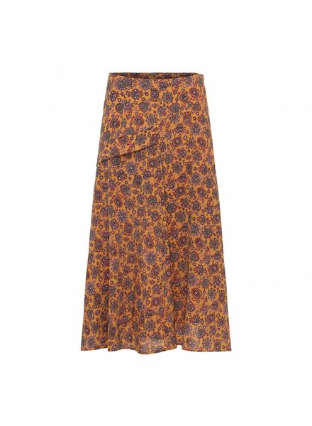 Julie Fagerholt Salli Skirt - Brown Print