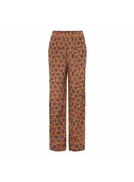 Julie Fagerholt Nola Pants - Brown Print - size 32