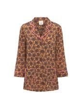 Julie Fagerholt Marly Shirt - Brown Print