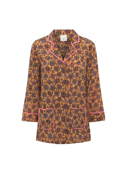 Julie Fagerholt Marly Shirt - Brown Print