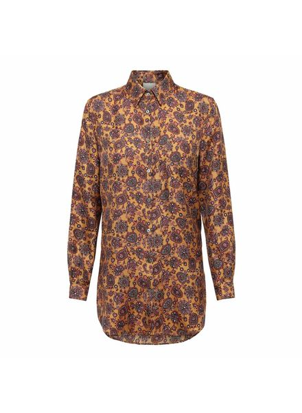 Julie Fagerholt Mosa Shirt - Brown Print