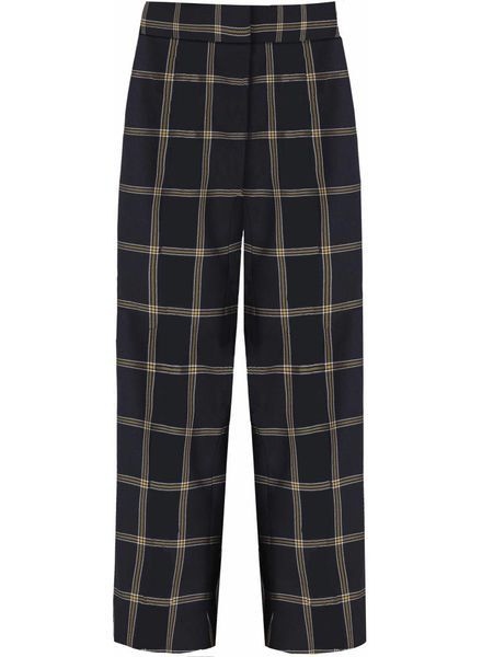 Just Female Valde trousers - Big check