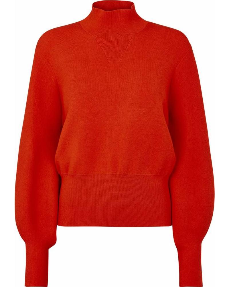 Just Female Alma knit - Aurora red