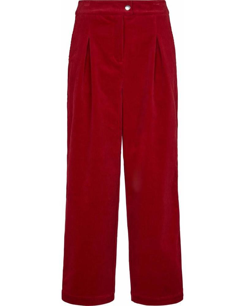 Just Female Ludvine trousers - Scarlet saga