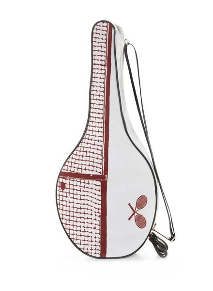Vieux Jeu Tennis bag - Red tennis