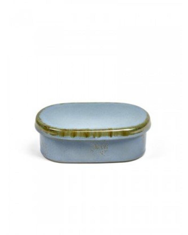 Anita Le Grelle for Serax Butter Dish - Smokey Blue