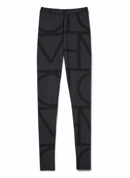 Totême Leon tights - Black monogram