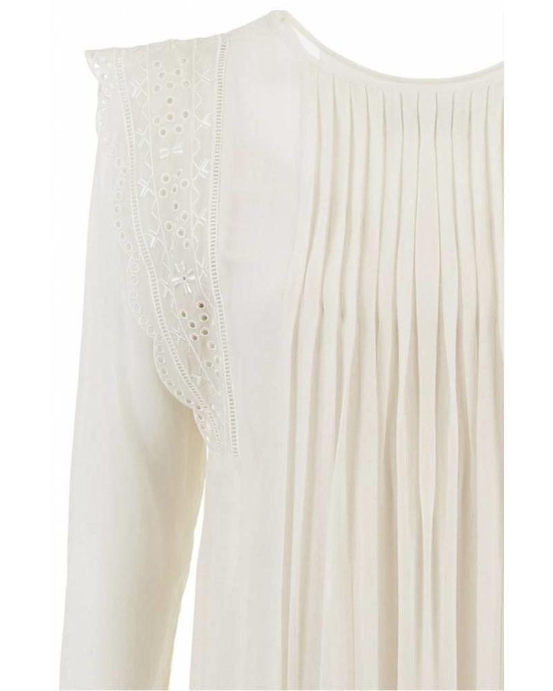 Magali Pascal Angus Dress - Dusty White