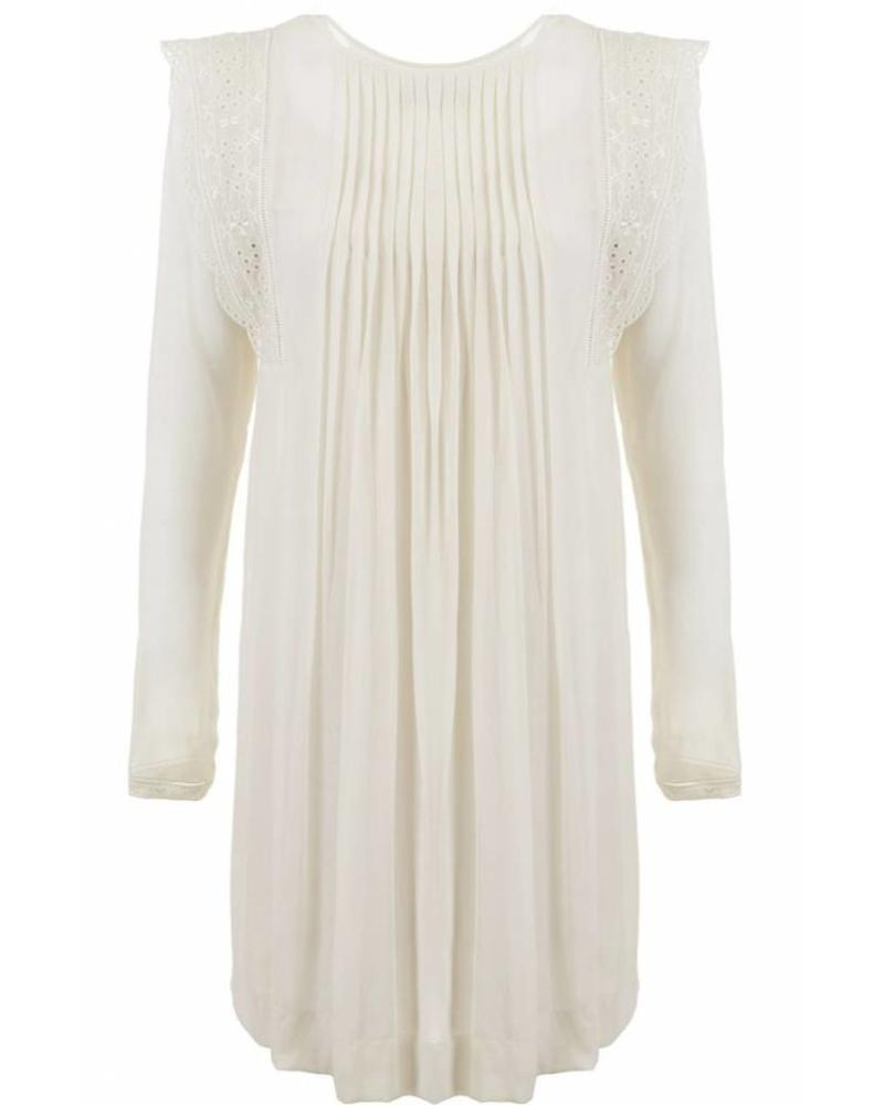 Magali Pascal Angus Dress - Dusty White