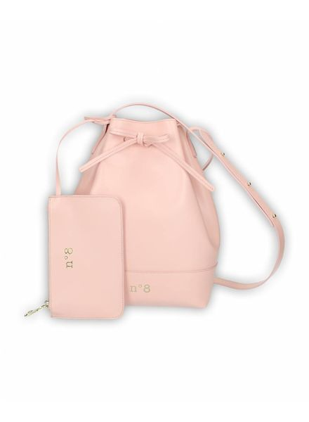 N°8 Antwerp Bucket bag - Rosado