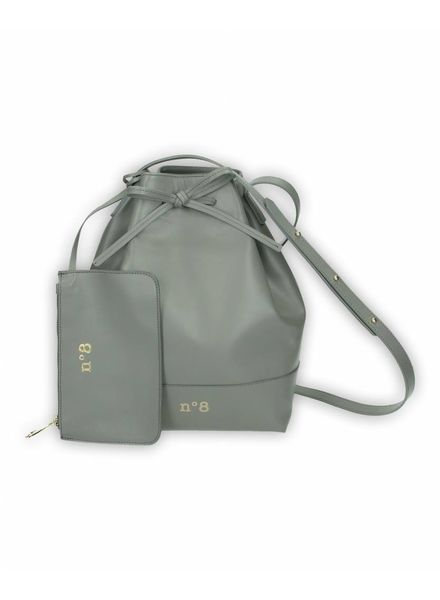 N°8 Antwerp Bucket bag - Graphite
