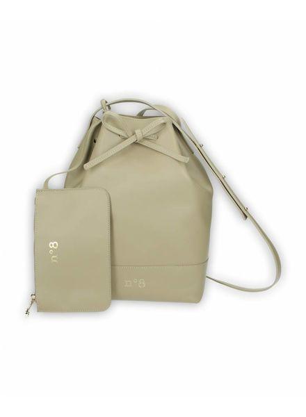 N°8 Antwerp Bucket bag - Taupe