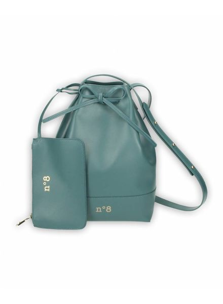 N°8 Antwerp Bucket bag - Petrol