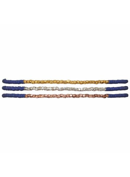 Thin Bracelet - Royal Blue