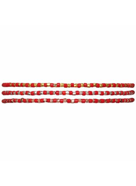 Bracelet Slinky - Poppy Red