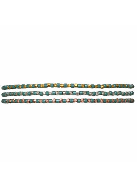 Bracelet slinky - Turquoise