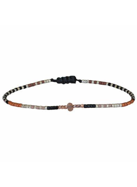Semi precious bracelet - Sunstone