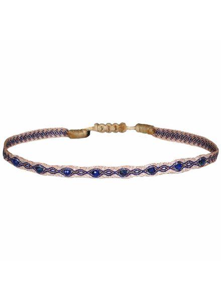 Multi semi - precious bracelet - Lapis Lazuli