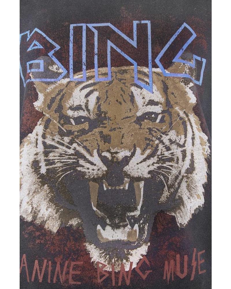 Anine Bing Tiger tee - Black