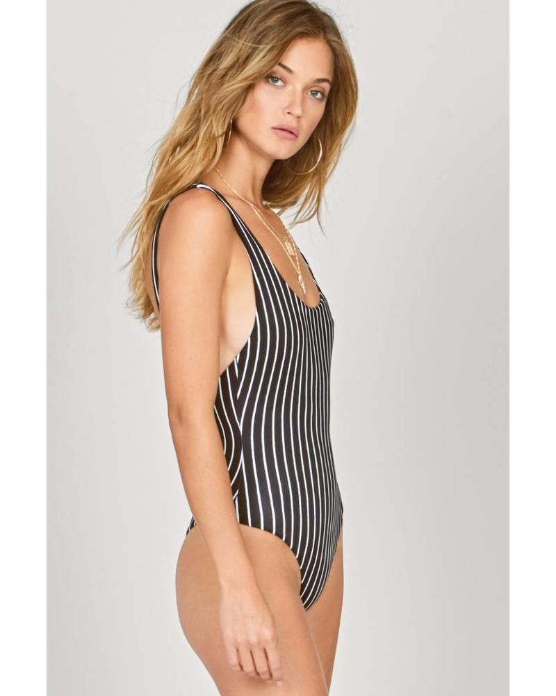 Amuse Society Amalia one piece - Black