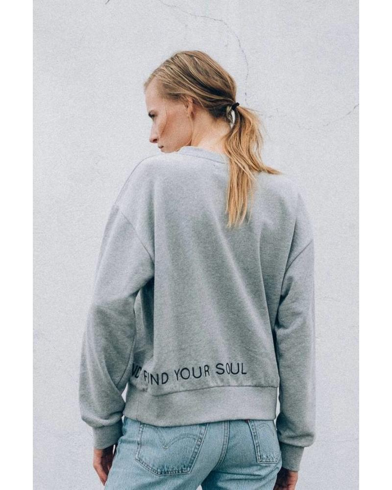 âme antwerp Astra - Marled Grey