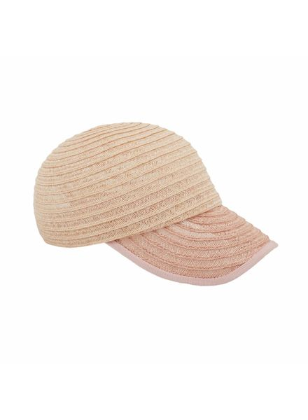 D'estrëe Raymond Straw Hat -  Paille naturel/rose