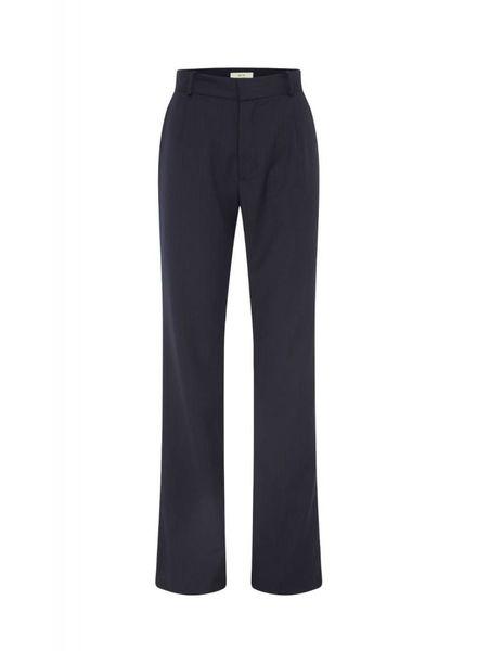 Matin Pinstripe Suit Pant - Navy