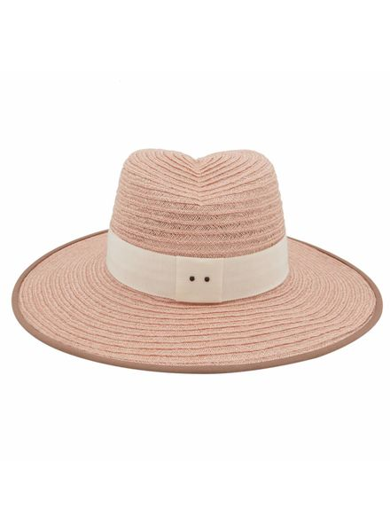 D'estrëe Cindy straw hat - Rose