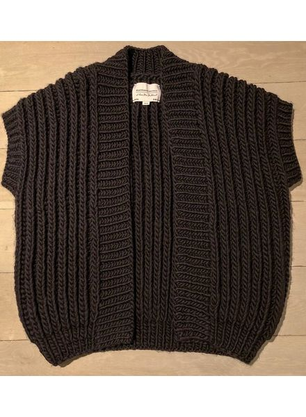 I Love Mr Mittens Fisherman coat - Black