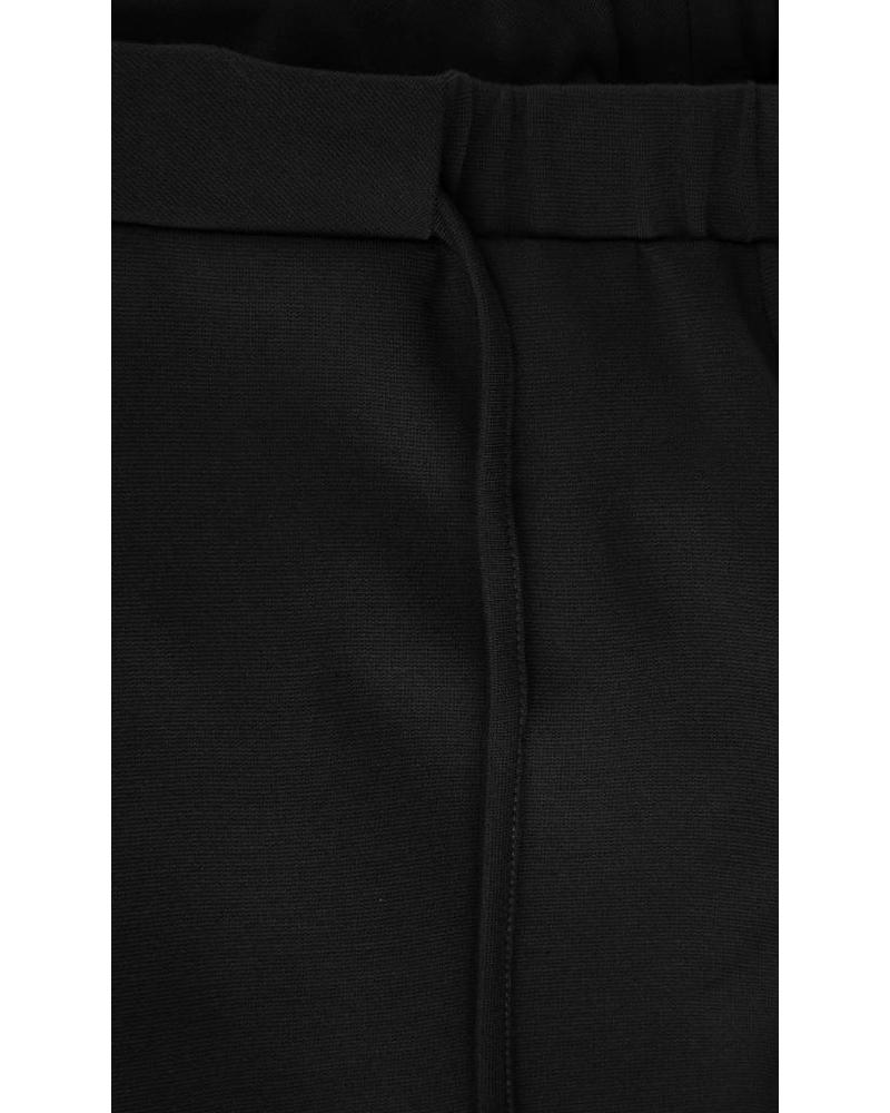 StudioRuig Thick jersey Trousers Bries - Black