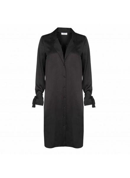 âme antwerp Agathe dress - Black