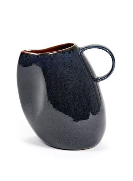 Anita Le Grelle for Serax Karaf S 14x10 H14 - Dark Blue